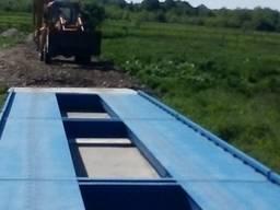Зважування вантажних авто до 80 тон 18 метрів