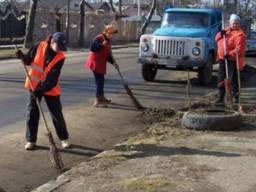 Послуги з прибирання та підмітання вулиць