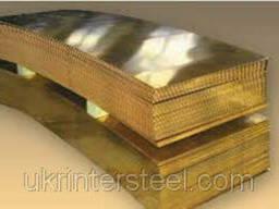 Латунный лист / плита х/к ( медно-цинковый CuZn37) Л-63. ..