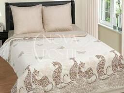 Постельное белье с оригинальными ажурными кошками Мэри. Попл