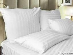 Постельное белье страйп-сатин оптом для гостиниц