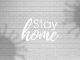 Флизелиновые обои Лофт Stay Home дизайнерские 540 см х 280 см