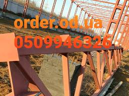 Построить ангар цена в Украине