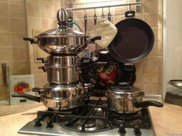 Посуда сковорода, кастрюля