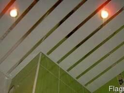 Потолки Грильято, Рейка со склада в Симферополе, установка