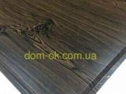Потолочная плита 600х600 цвет Темное дерево 0, 4 мм