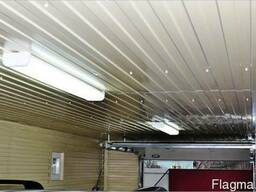 Потолочный профнастил, металлопрофиль на потолок, профлист