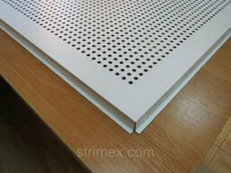 Потолочные панели металлические с перфорацией Strimex