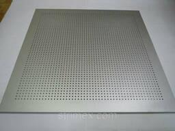 Потолочные плиты металлические Strim-Ceiling с перфорацией