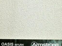Потолок подвесной плита Армстронг Оазис 600*600*12мм