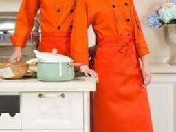 Поварская униформа оранжевого цвета