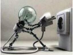 Повесить, подключить люстру, светильник, бра.