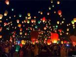 Повітряні ліхтарики, китайські паперові ліхтарі Серце, Купол - фото 8