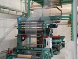 Плівковий екструдер TECOM з флексографічним принтером
