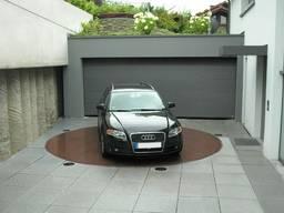Поворотная платформа автомобиля для улицы гаража парковки