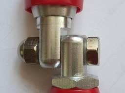 Поворотный механизм на удочку сопла окрасочного пистолета