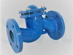 Поворотный обратный клапан DN80 / PN10 в комплекте с фланцами, прокладками и крепежем.