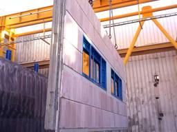 Поворотный стол для производства панелей ЖБИ SUMAB Швеция