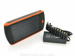 Power bank 23000 mAh Solar For Laptop, (5V/200mA), 2xUSB, 5V/1A/2, 1A, For Laptop. ..