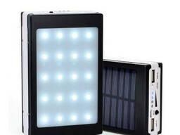 Power bank на солнечной батарее внешний аккумулятор Solar. ..