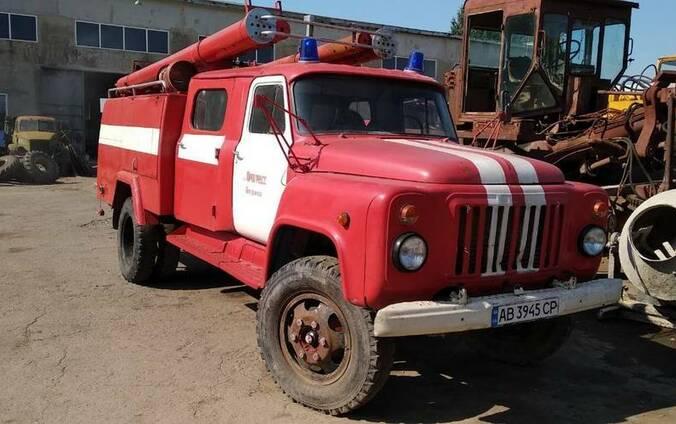 Пожарная машина АЦ 30(Газ 53)