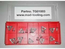 Позитивные ножи к стенду для проточки тормозных дисков 10 шт. TG01003 MAD