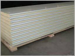ППУ-панели (полиуретан) 50, 60, 80, 100, 120, 150 мм