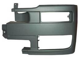 Правая, центральная, левая часть переднего бампера Axor