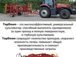 Предлагаем услуги глубокорыхлителя с трактором Case и сеялкой