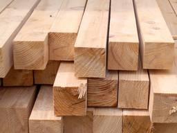 Брус деревянный 100х100, Сосна