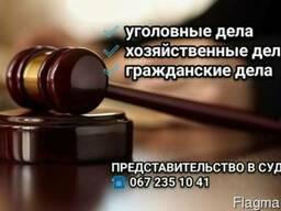 Представительство в суде по хозяйственным и уголовным делам