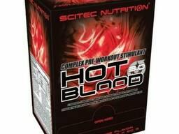 Предтрен Scitec Nutrition Hot Blood 3.0 25x20 g Blue Guarana