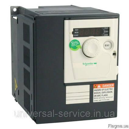 Преобразователь частоты 1.5 кВт Schneider ATV312HU15N4