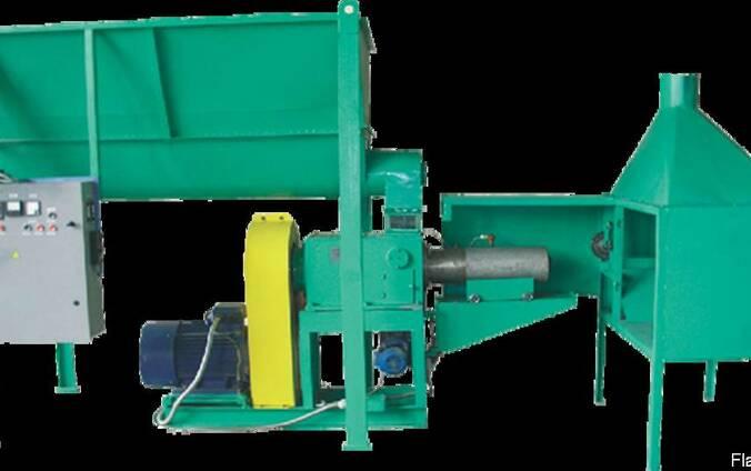 Пресс для брикетирования шнековый УБТ-350