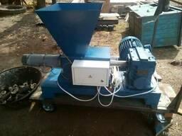 Пресс для брикетов шнековый 10 кВт до 100 кг. час