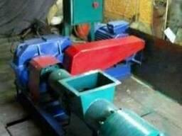 Пресс Экструдер для изготовления брикета из бурого угля торф