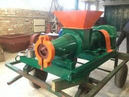 Пресс Экструдер ЭБ-1000 для изготовления брикета из бурого у
