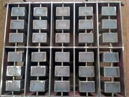 Пресс-формы для блока, шлакоблока, полублока
