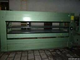 Пресс гарячий Pellegrini 3500х1300 двухэтажный для шпонирова