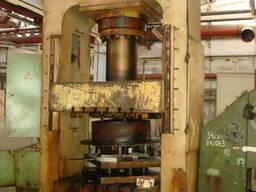 Пресс гидравлический ДБ2434 (250 т), ДГ2434, ДА2238Б (630 т)
