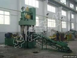 Пресс гидравлический для брикетирования Y83-500