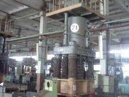 Пресс гидравлический модель ДБ 0638 усилием 630 тонн