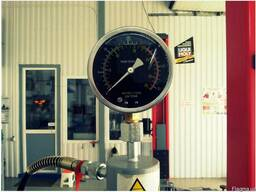 Пресс гидравлический напольный SR-42020, 20 т. - фото 3