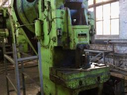 Пресс кривошипный К117Е усилием 100 т