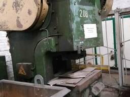 Пресс кривошипный К2130Г