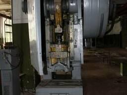 Пресс кривошипный КД2126, усилием 40т механический