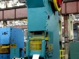 Пресс кривошипный КГ 2134 (усилие - 250 тонн)