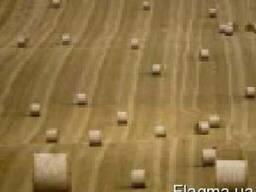 Пресс подборщик сено солома тюкование сена соломы в тюки