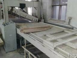 Пресс с ТВЧ нагревом для производства клееного щита б/у