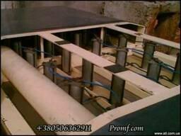 Пресс для сыра туннельный 40 форм.